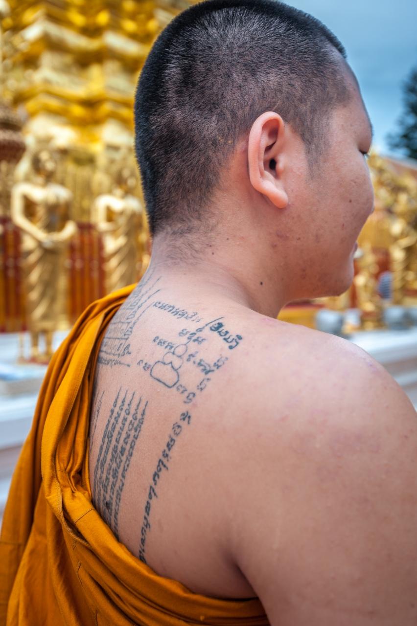 chiang mai monje budista