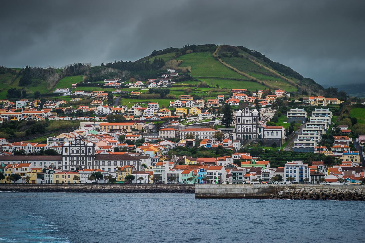 Horta, isla de Faial
