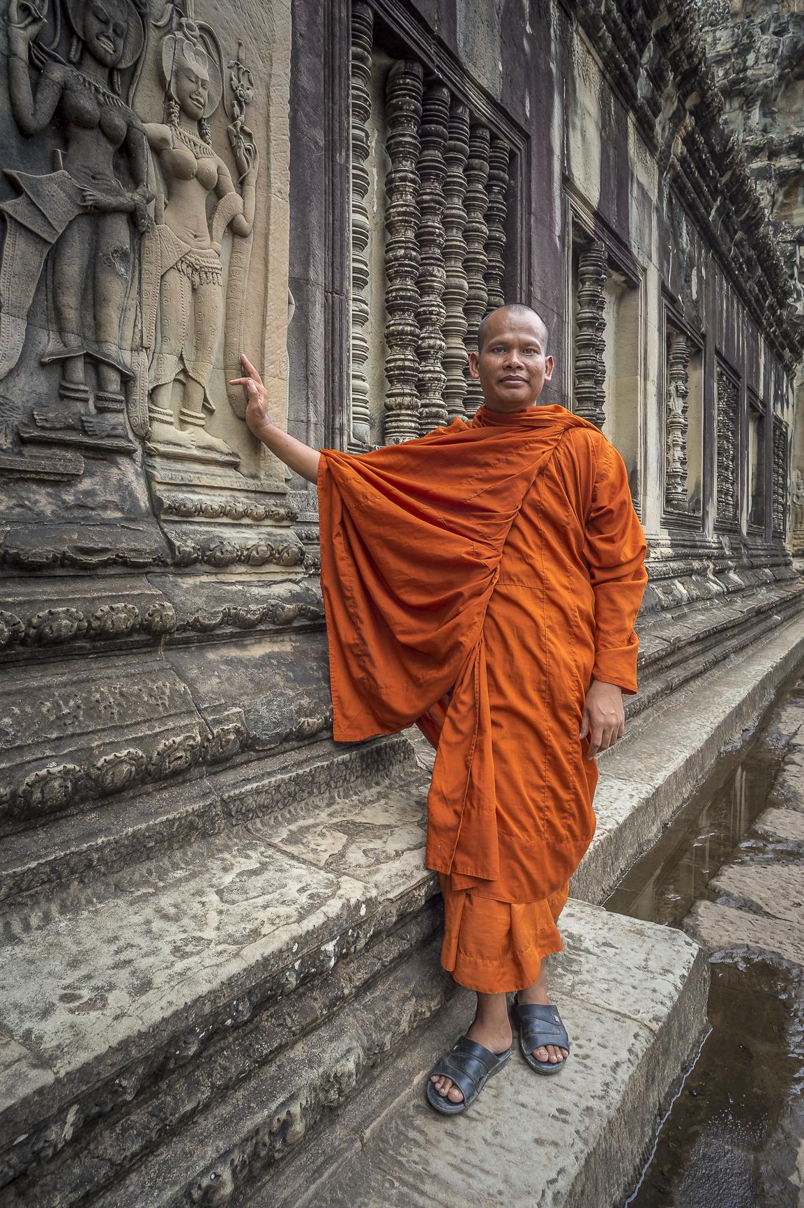 Camboya fotografía de retratos en viajes