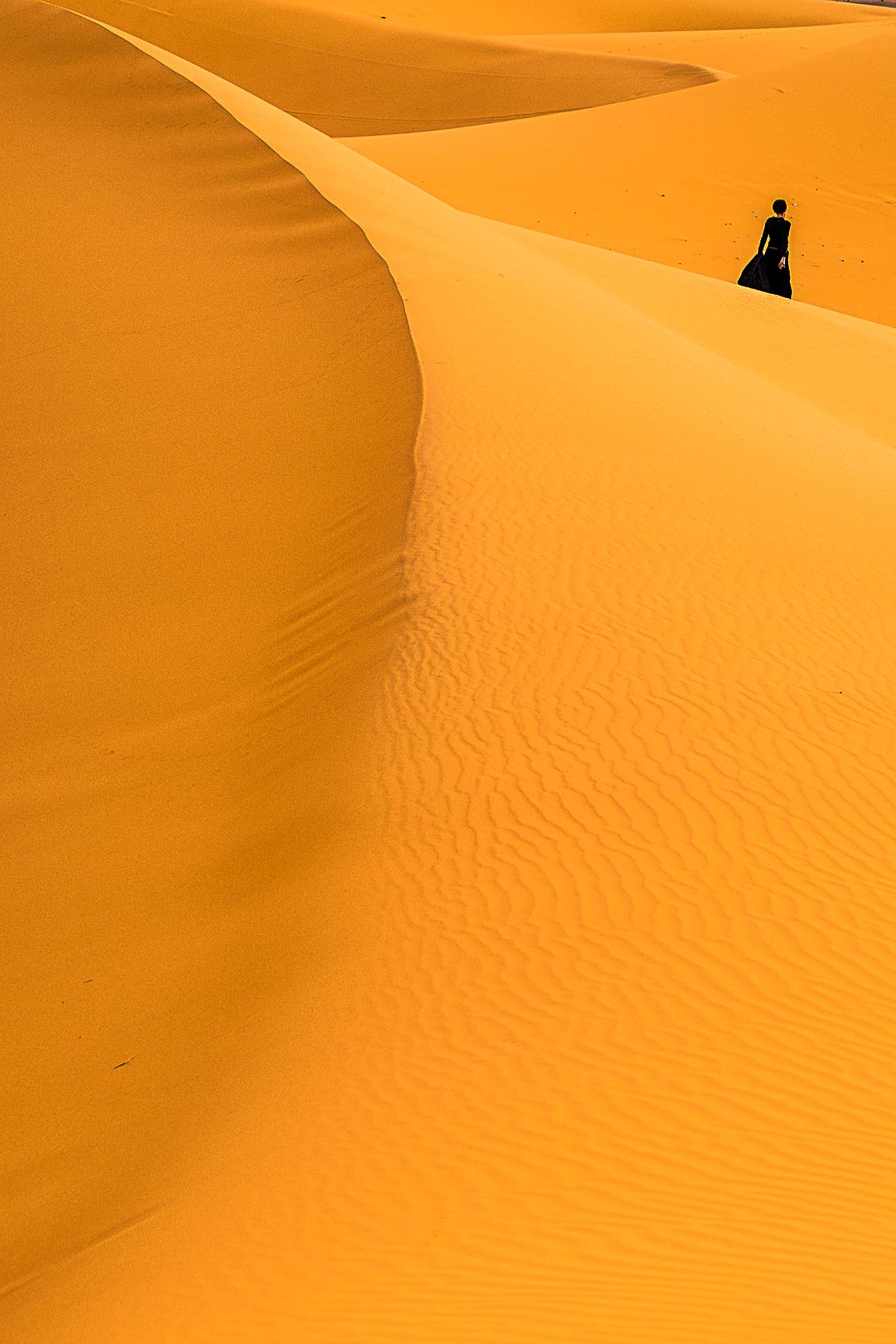 Dunas desierto Erg Chebbi Marruecos Sahara