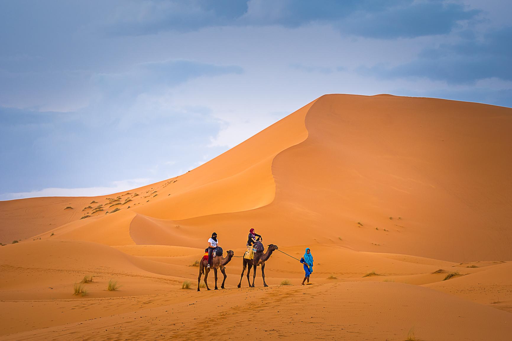 Desierto Erg Chebbi Marruecos Sahara