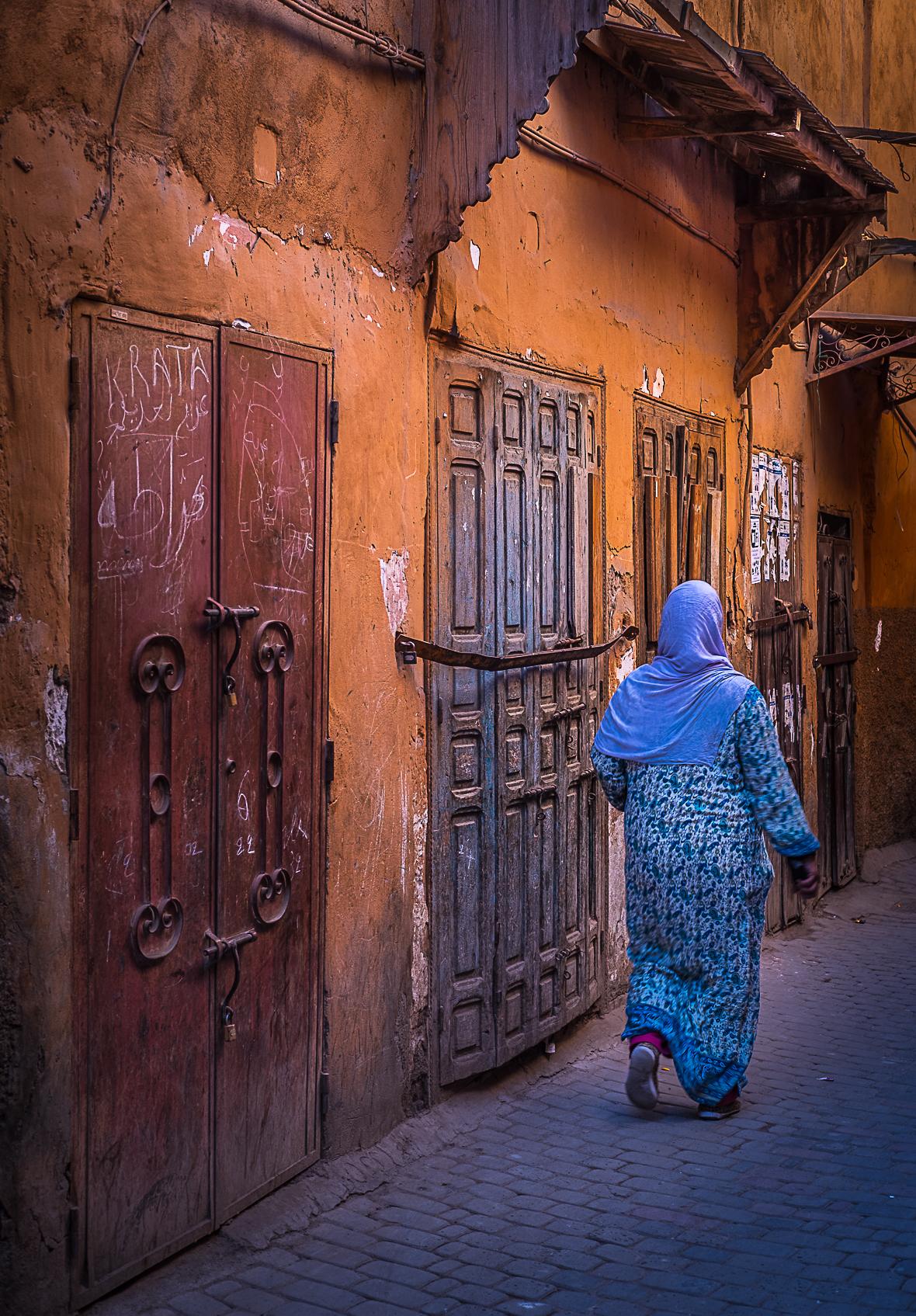 medina de marrakech marruecos