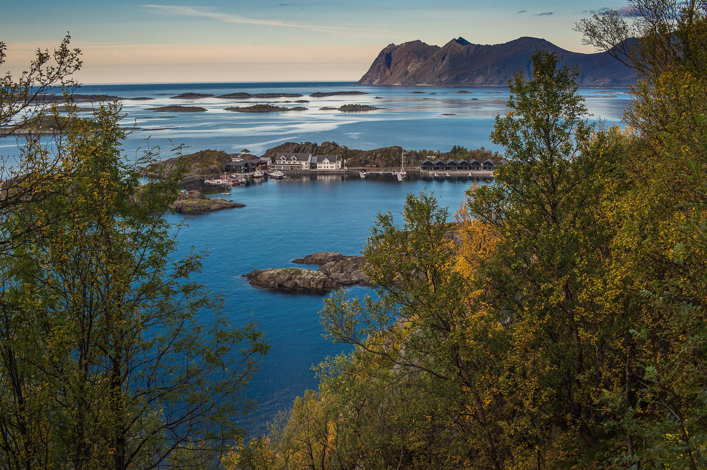 Isla de Senja Noruega