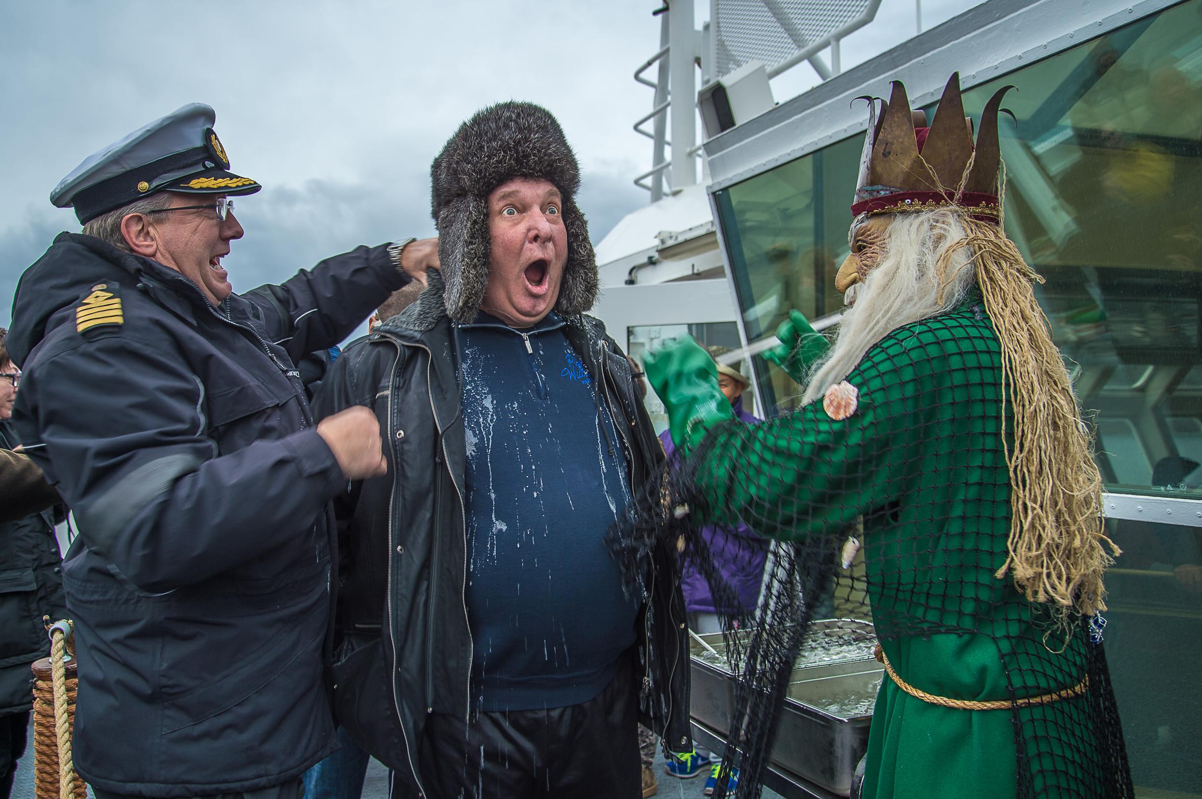 Bautizo Artico Hurtigruten