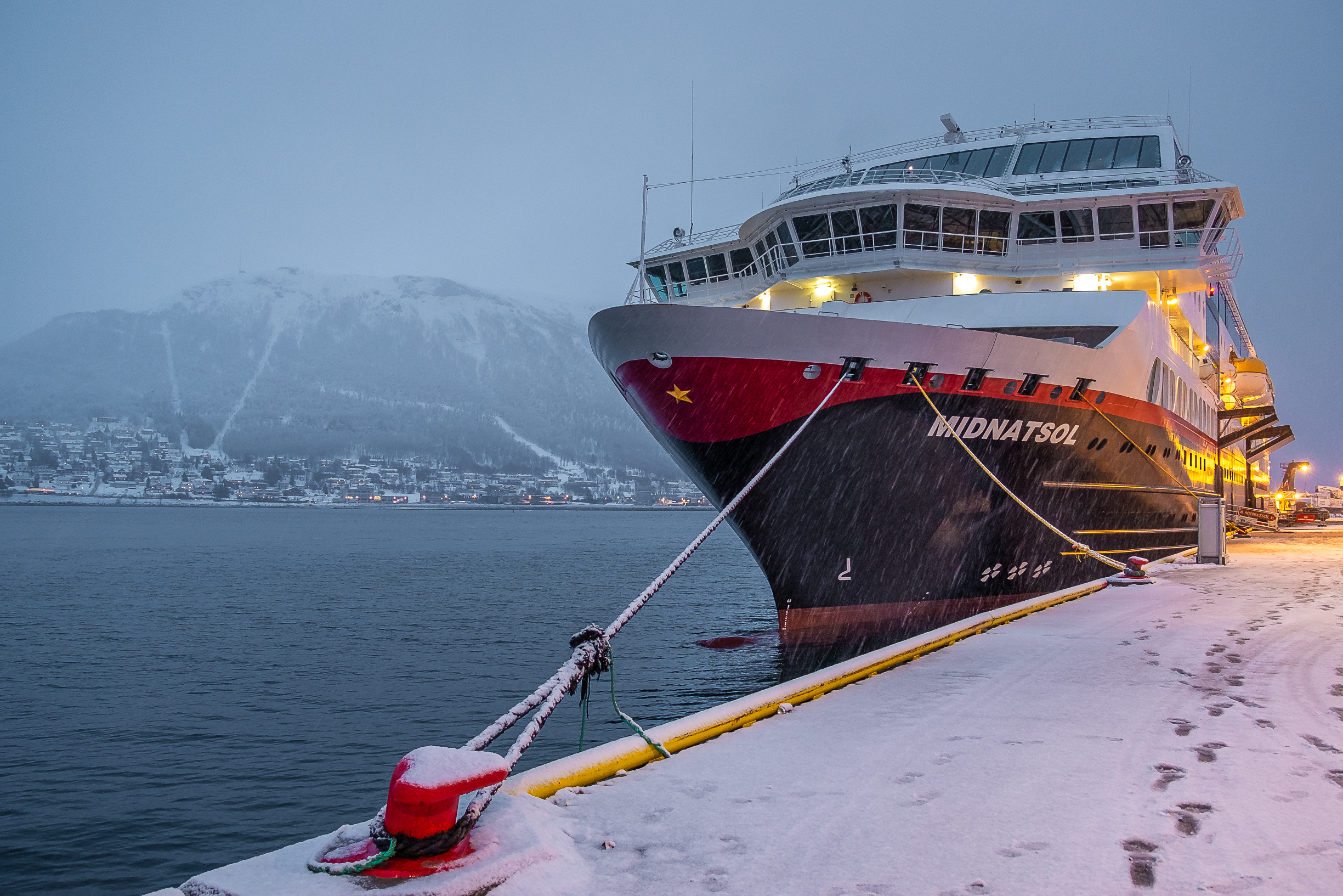 Hurtigruten Noruega