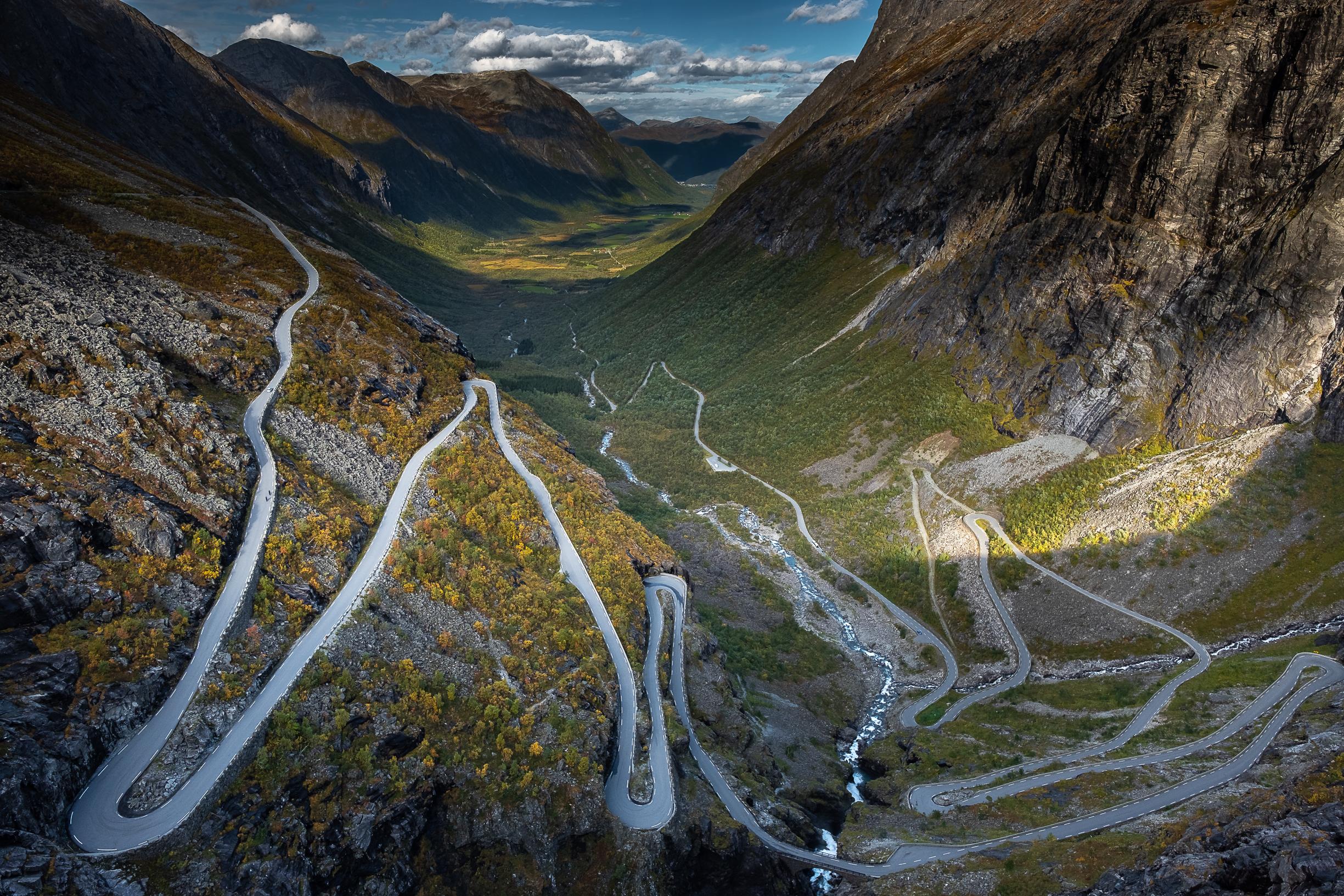 Escalera de los Trolls Noruega Trollstigen